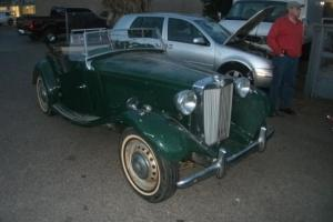 1950 mg td barn find  texas car no rust LOW RESERVE