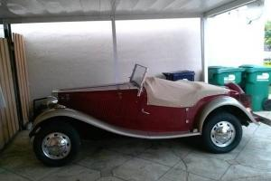 1952 MG Replica Photo