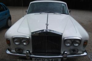 1976 ROLLS ROYCE SILVER SHADOW I WHITE Photo