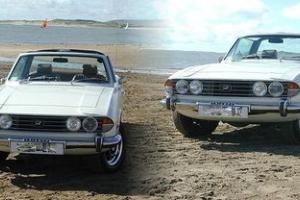 Triumph Stag Auto White 1976 'Excellent Condition' Photo