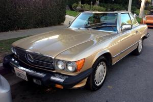 1986 Mercedes-Benz 560SL *PRISTINE *CLEAN CARFAX * Hardtop Convertible
