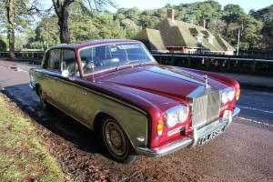 Rolls Royce Silver Shadow - 1969 Classic Car with Original Spec sheet Photo