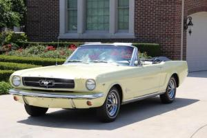 1965 Mustang Convertible 1 Owner 61k Miles Rally Pac