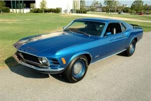 1970 Ford Mustang Mach 1  428 Super Cobra Jet 4 Speed Manual 2-Door Coupe