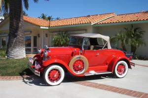 1980 Shay ford Model A Super Deluxe  Replica, Roadster, Convertible Automatic