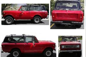 International SCOUT II 4WD  - better to call it a Hunting Assault Vehicle (HAV)