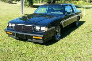 1986 BUICK GRAND NATIONAL COUPE T TOP