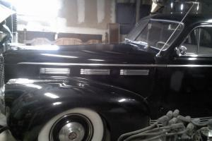 Barn Find 1940 Cadillac La Salle Series 50 Sedan Photo