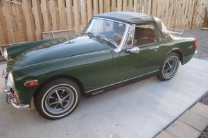 1972 MG Midget Convertible Photo