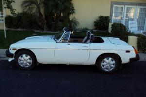 Classic 1976 MG MGB Roadster Convertible Photo