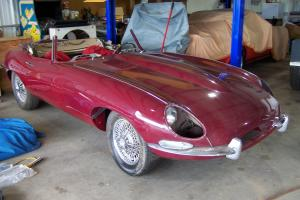 1964 Jaguar Series 1 E-Type Convertible Photo