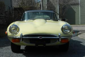 1971 Jaguar E Type Roadster 10,980 original miles