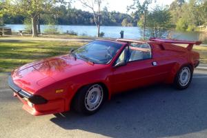 1984 Lamborghini Jalpa Base Coupe 2-Door 3.5L with factory installed wing