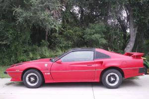 Ferrari body, over Trans Am chassis, Red,