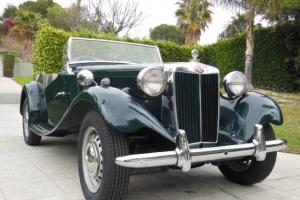 1953 MG TD RESTORED BEAUTY!