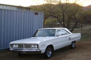 1966 DODGE CORONET 500 - 2 DOOR  - 318/AUTOMATIC - STRAIGHT AND CLEAN!!