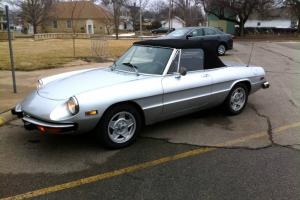 1974 Alfa Romeo Spider - Great Daily Driver or Weekend Toy - Nice Shape See Pix