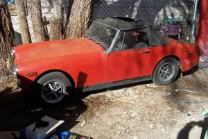 1972 MG Midget running project