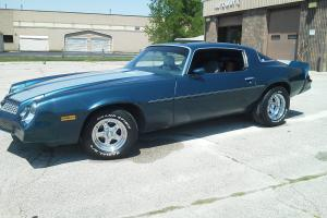1981 chevy camaro 3 speed v-8 matching number motor muscle car chevrolet classic