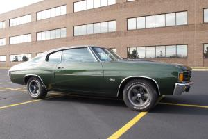 1972 Chevrolet Chevelle SS - Matching #'s U-Code 402/4Speed - Very Stock - Show