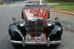 1951 MG TD ROADSTER EXCELLENT CALIFORNIA CAR