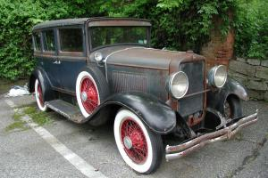 1929 PEERLESS MODEL 6-81 SOLID PERFECT FOR RESTORATION OWN A PIECE OF HISTORY