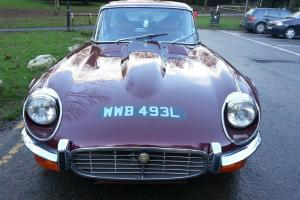 WONDERFUL 1973, JAGUAR SERIES 3 , E TYPE 5.3 V12, AUTO,NO RESERVE!