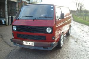 VW T25 Transporter Van with Subaru Legacy 2.5 engine