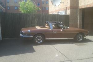 1976 TRIUMPH STAG BROWN