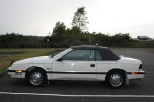 Chrysler : LeBaron Turbo