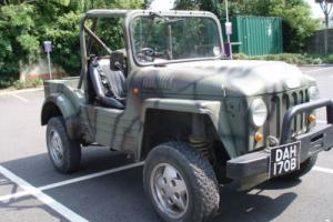 1964 Austin Champ Shell on Land Rover Chassis