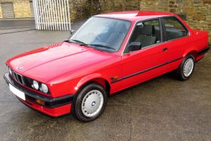 1988 BMW E30 316i 2 Door - One Owner - Just 27,000 Miles - FBMWSH (31 Stamps)