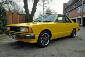 1981 DATSUN BLUEBIRD COUPE 1.8SSS YELLOW