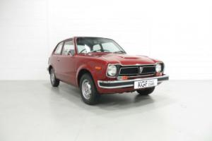 A Delightful early Mk1 Honda 1200 Civic Deluxe with Only 9,053 Miles from New