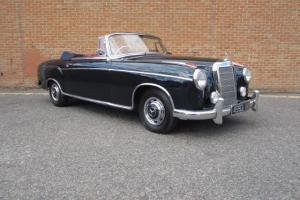 1960 MERCEDES 220SE CABRIOLET Photo
