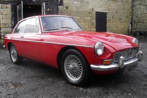 MGC GT IN RED Photo