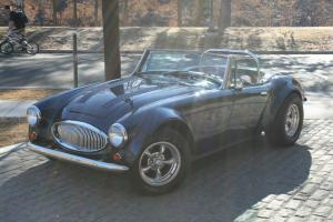 1962 Austin Healey 3000 MKII Kit Car amazing build 360 HP small block beautiful