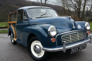 1968 Morris minor Traveller, Fully refurbished in house at WRCC stunning car