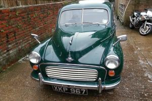 EXTREMELY ORIGINAL AND RESTORED 1956 SPLIT SCREEN MORRIS MINOR