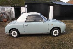 Nissan Figaro 62k miles Restored, Serviced, Warranty, MOT, Tax. Part Ex Swap px