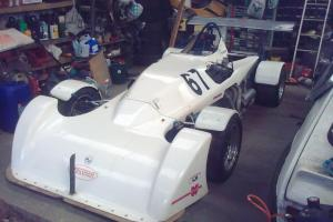 mallock mk 14 sprint hillclimb single seater with suzuki gsxr1100wp engine race