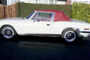 1975 TRIUMPH STAG OLD ENGLISH WHITE Photo