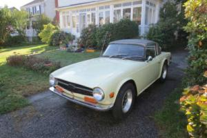 1972 Triumph TR6 Convertible LHD Photo