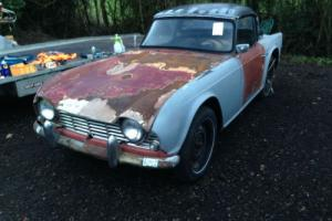 1963 Triumph TR4 Restoration project *hard top, complete car, engine rebuilt* Photo