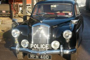 Very good condition with interesting history, Black Wolseley 1550 Photo