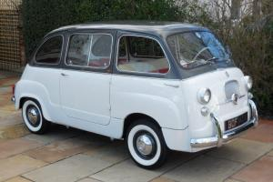 Fiat 600D Multipla / LHD / 1963 / 49K Miles Warranted / 2 Owners / Time Warp!
