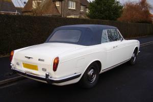ROLLS ROYCE CORNICHE CONVERTIBLE 1972 1 PREVIOUS OWNER , 76,000 MILES ,POSS PX Photo