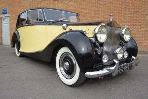 1950 ROLLS ROYCE SILVER WRAITH WITH POWER STEERING