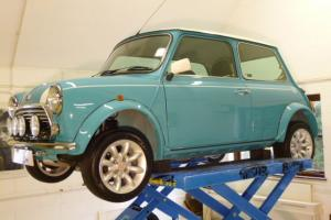 1997 Rover Mini Cooper In Surf Blue 'One Owner From New' 6500 Miles!! Photo