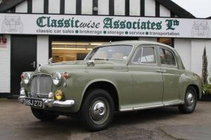 1960 ROVER 100 (P4) SALOON 4 SPEED MANUAL O/D GREEN